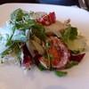 ピエール・ド・ロンサール - 料理写真:お皿に取った、地元野菜のサラダ♪