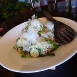 ピエール・ド・ロンサール - 大きなお皿のサラダは、3人分