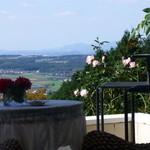 ピエール・ド・ロンサール - テラスからの眺め