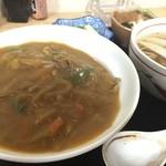 新大正庵 - カレー丼定食のカレー丼