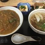 新大正庵 - カレー丼定食
