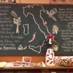 ラ・タッパ フィッサ - レシピ黒板