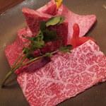 肉のすずき - セット 5000円