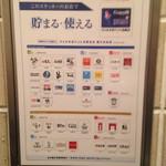 土古里 浅草店 - ポイントはいろんなお店で共通して使えるようだ。
