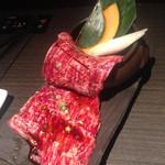 土古里 - 壺漬けカルビ。白いご飯が欲しくなる。