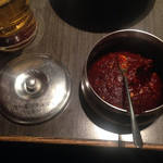 土古里 - 食べるコチュジャン。コレを焼きたての肉に乗せて食うのがオススメ。