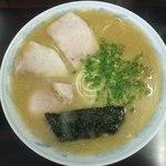 ラーメン げんこつ家 - ラーメン550円(2014.11上)