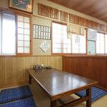 季禅房 - お座敷は少人数でもゆったりとご利用頂けます
