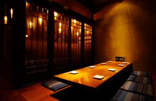 東京豚バザール - 隠れ家個室もご用意してあります!こちらも人気席の為予約必須!