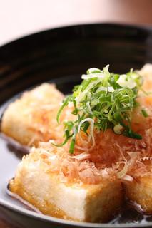 季禅房 - 揚げ出し豆腐 530円