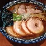 めん処 樹 - 醤油スペシャルチャーシュー麺