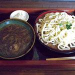 鴨富士 - 料理写真:鴨汁うどん(600円)_2010-02-20