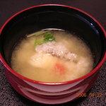 3268024 - 鯛のあわせ味噌汁