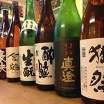 タズ カフェ - アルコールメニューも充実。日本酒はオール500円!