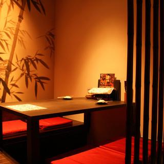 別館『離れ』は全席掘りごたつ大小個室・半個室完備!
