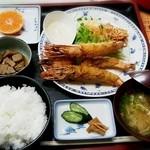 居酒屋第三小畑 - 料理写真:★エビフライ定食