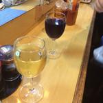 にしの - グラスワイン これだけ入って260円