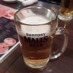上海酒場 - ビール