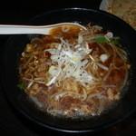 華龍 - 激辛台湾ラーメン激辛なのにスープが赤く無い、最高に旨いです!