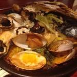 スペイン料理 アロス - 海の幸山の幸パエリア