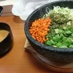 日の出らーめん - 石焼ガッツ麺(730円)