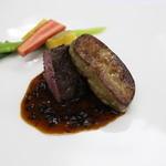 マドラウンジ - 【Xmas】信州和牛フィレ肉のグリエとフォアグラのソテー 黒トリュフのソース