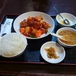32687020 - 酢豚定食