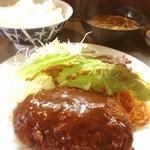 ベル - ミンチカツ定食☺︎670円
