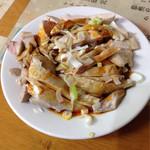 蘭芳園 - 2014.10 晩酌セットで選んだ四川風蒸し鶏