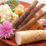 天ぷら ひさご - 冬野菜各種