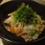 麺彩 藤 - 塩ホルモン煮込丼