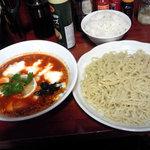 牛すじ野菜つけそば 竜馬 - 私の定番 トマトチーズつけ麺