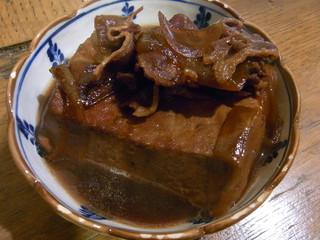うけもち - 肉豆腐