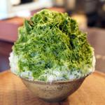 たいやきや ゆいのかき氷 - 抹茶(2013)