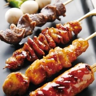 美味しい串焼きを「熱々」で提供します