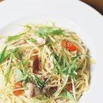 THE mid DINER - 鶏肉と水菜の柚子胡椒風味