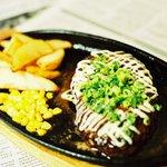 THE mid DINER - ハンバーグ・辛味噌マヨネーズ