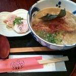 手しごと創菜 はんなりや - 鶏しおらーめん 690円+鶏チャーシュー