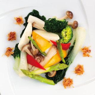 野菜を使用したメニューが豊富