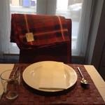リストランテ シャイー - 温かみのある席