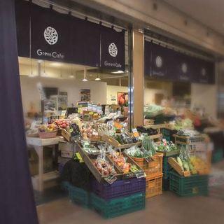 なんばの本店「直売所カフェ」チョイスのお野菜を使用!