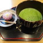 喫茶去 京極 - 抹茶(生菓子付き)