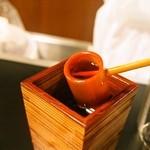 175°DENO〜担担麺〜 - お好みでラー油もどうぞ