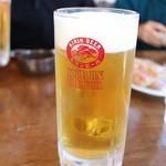 一峰 - 生ビール。