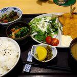 さかなやの居酒屋たもつ - 料理写真:魚フライ定食