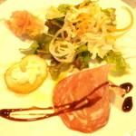 32705063 - ランチの前菜3種+サラダプレート(他にメインあり)