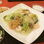中国料理 白楽天 - 久しぶりの「白楽天」。焼きそばランチをいただきました!