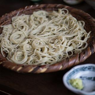 石臼挽き蕎麦香房 山の実 - 料理写真:生粉打ち蕎麦