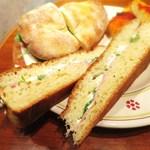 アルタムーラ - 本日のサンドイッチ
