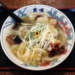 ラーメン玄咲 - 龍舟麺(890円)